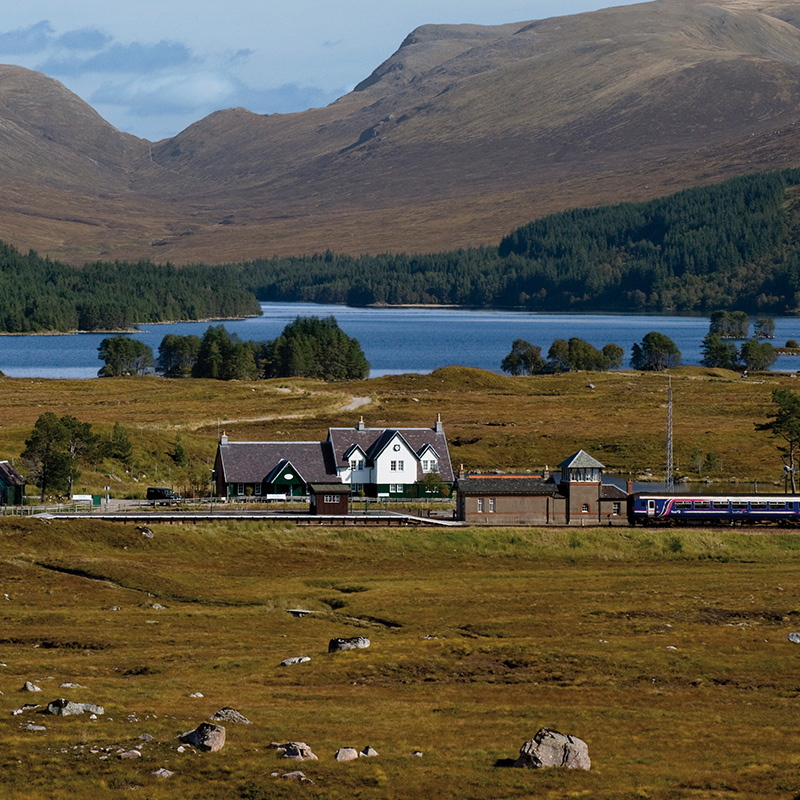 Station House Corrour Estate Highlands Scotland